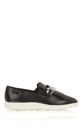 What For | Loafers Daisy | Zwart