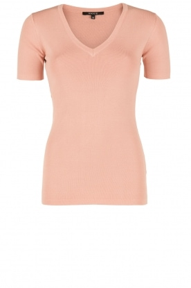 NIKKIE |  V-neck top Jolie | pink