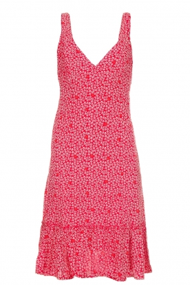 BEACHGOLD |  Dress with floral print Rambler | red