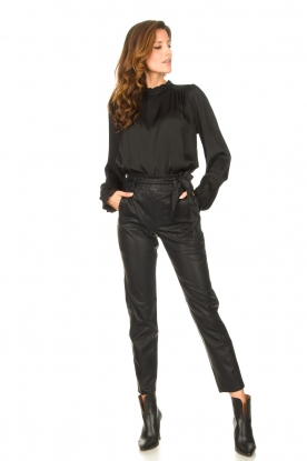 Look Faux leather pants Frida