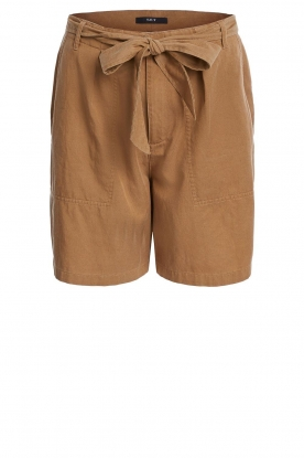 Set |  Shorts with bow detail Arisa | camel
