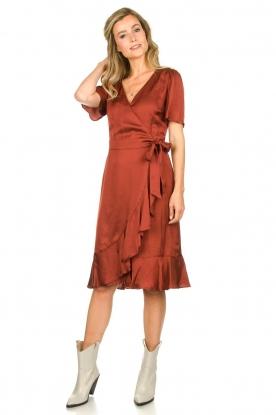 Look Satin dress Ava