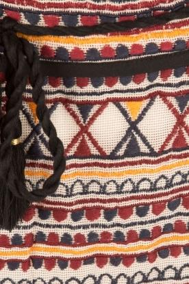Antik Batik | Minirok Sancha | zwart