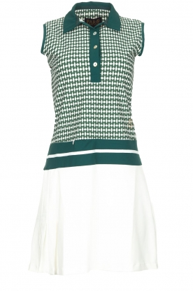 Par 69 |  Golf dress with Escher print Beaudille | green