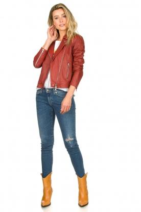 Look Leather biker jacket Allister