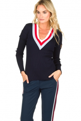 Par 69 |  Golf pullover Belle | blue
