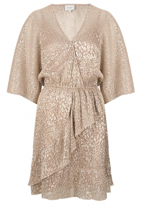 Dante 6 |  Leopard print dress Sadee | beige