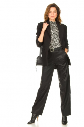 Look Faux leather pants Naomi