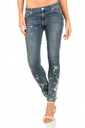 Bleached skinny jeans Brooke length 32 | blue