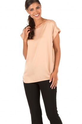 By Malene Birger | Zijden top Candillani | roze