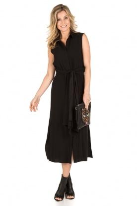 Tara Jarmon | Midi jurk Delphine | zwart