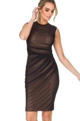 By Malene Birger | Semi-sheer jurk Gilda | zwart
