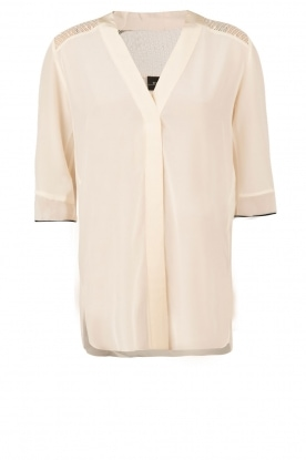 By Malene Birger | Zijden top Kantiko | wit