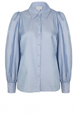 Dante 6 | Balloon sleeve blouse Mauri | blue