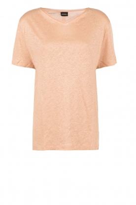 By Malene Birger | Linnen T-shirt Ivonna | roze