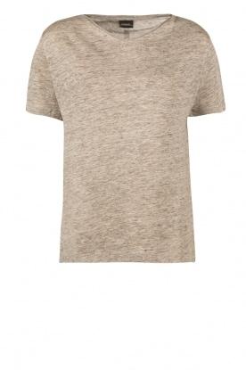 By Malene Birger | Linnen T-shirt Ivonna | grijs