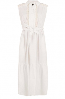 Tara Jarmon |  Maxi dress Sabrina | white