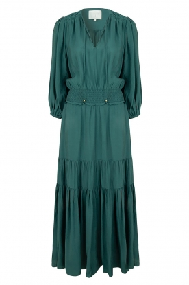 Dante 6 | Maxi dress with ruffles Marais | green