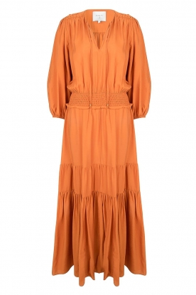 Dante 6 |  Maxi dress with ruffles Marais | orange
