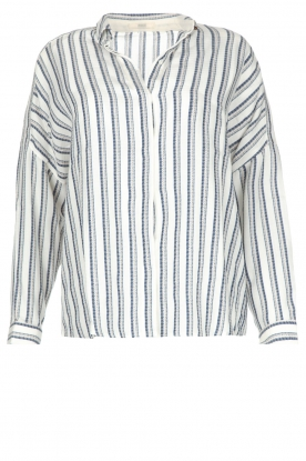 Sessun |  Striped blouse Pintor | naturel
