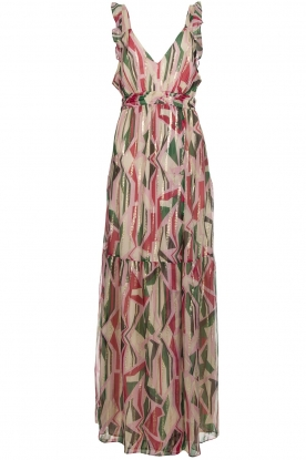 ba&sh |  Silk maxi dress with print Betty | multi