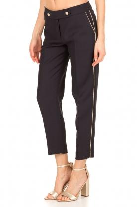 Tara Jarmon |  Cropped trousers Martine | dark blue
