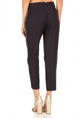 Tara Jarmon | Cropped pantalon Martine | donkerblauw