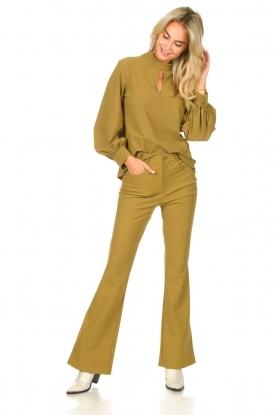 Look Bootcut travelwear pants Vibrant