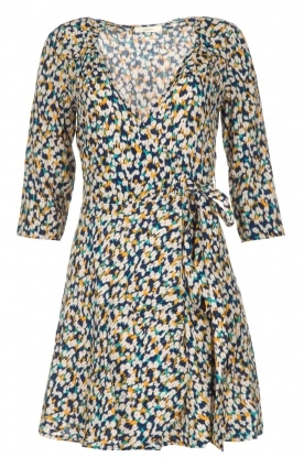 Sessun |  Wrap dress with print Chicachi | multi
