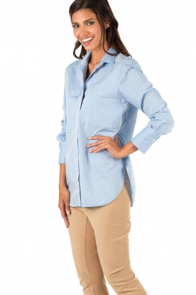 By Malene Birger | Blouse Isla | blauw