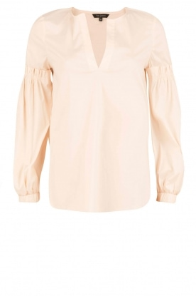 Tara Jarmon | Puffer sleeves blouse Leala | naturel