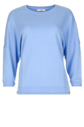 Sessun |  Playful sweater Arleta | blue