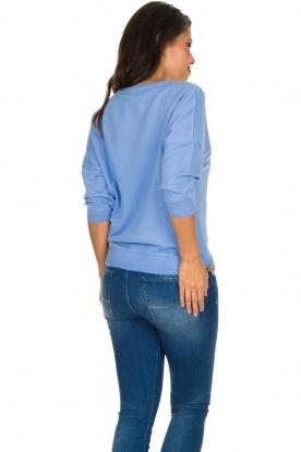 Sessun | Speelse trui Arleta | blauw