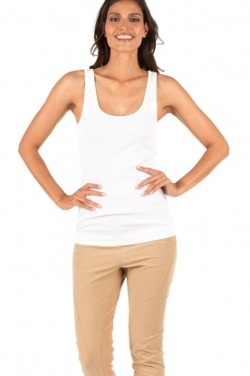 By Malene Birger | Tanktop Newdawn | wit
