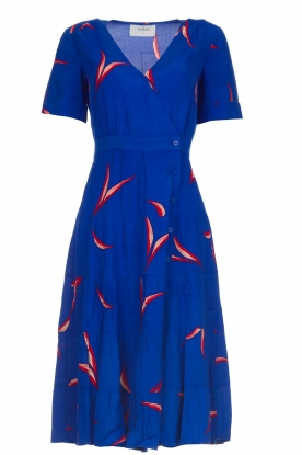 ba&sh |  Printed dress Tais | blue