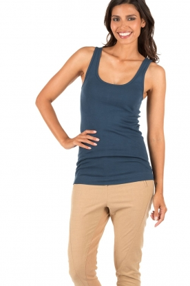 By Malene Birger | Tanktop Newdawn | blauw