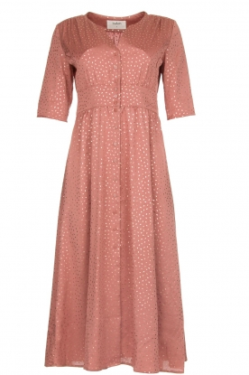 ba&sh |  Midi dress with dots Gala | pink