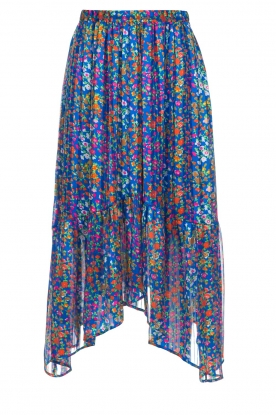 ba&sh |  Floral midi skirt Romeo | blue