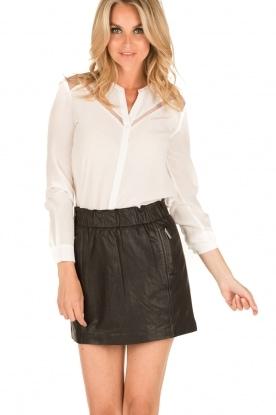IKKS | Zijden blouse Onno | wit