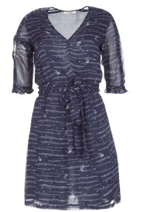Sessun |  Dashing dress Koan | dark blue