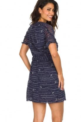 Sessun | Zwierige jurk Koan | donkerblauw