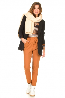 Look Travelwear top met tie-dye Baleine