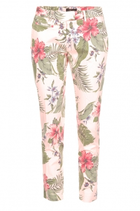 MASONS   Pantalon New York Slim   Roze