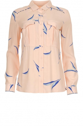 ba&sh |  Printed blouse Terry | nude