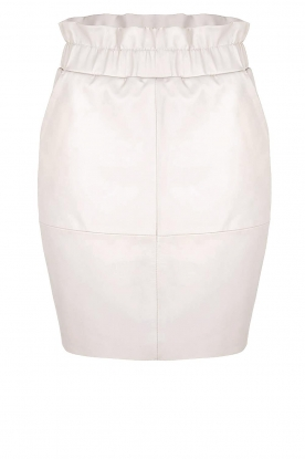 Dante 6 |  Leather skirt Adyn | natural