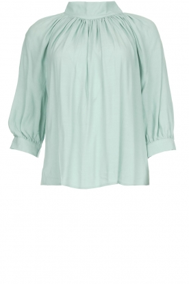 ba&sh |  Top with pleats Felicie | blue