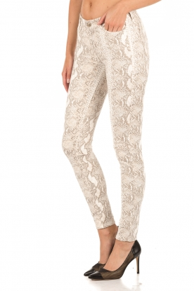 7 For All Mankind | Broek met print Knee Seam Skinny | print
