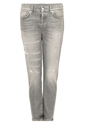 7 For All Mankind |  Cropped Jeans Josie | grey