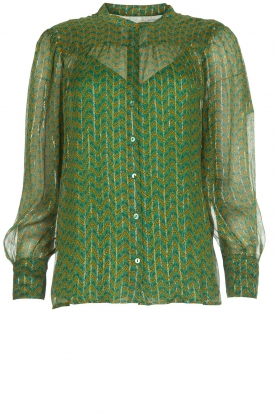 ba&sh | Blouse Wize | green