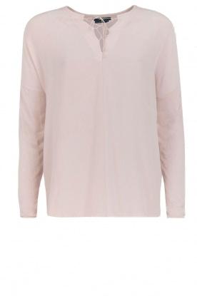 Set | Zijden blouse Ripley | Nude